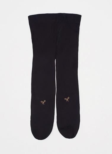 Katia & Bony Ribbon Bebek Külotlu Çorap  Siyah